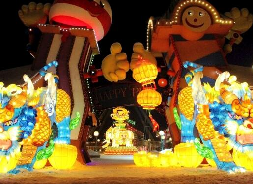元宵节定做彩灯厂商科普: 大型灯笼生产说明