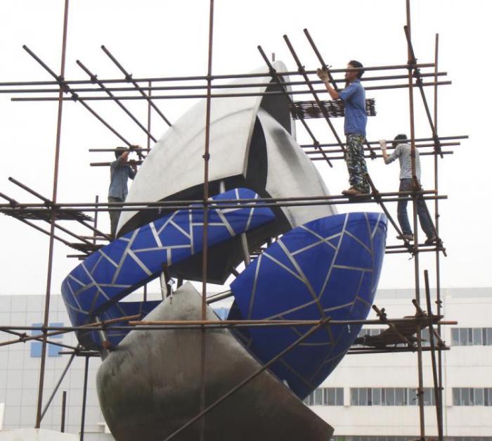 【城市雕塑】赣州高新产业园设计制作