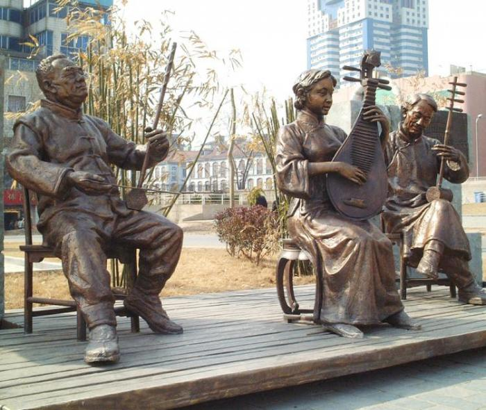 【城市雕塑】武漢江灘
