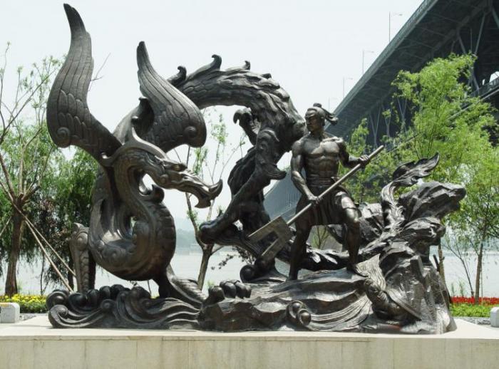 【城市雕塑】武汉江滩