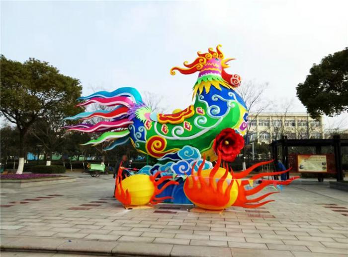 【花灯制作】陕西韩城新年灯会
