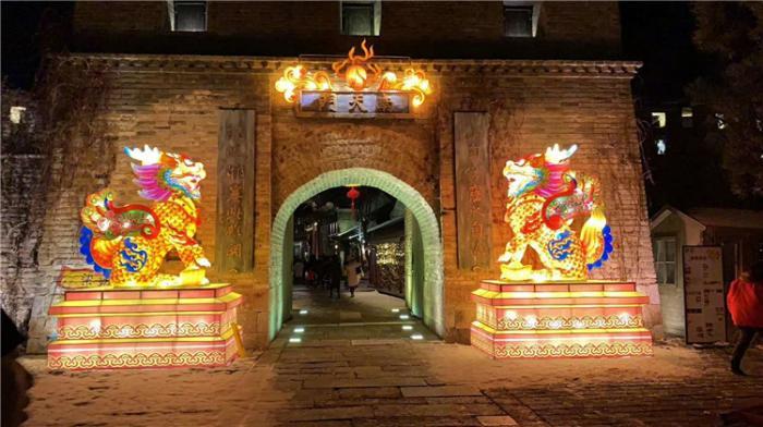 【花灯制作】北京司马台长城游览区