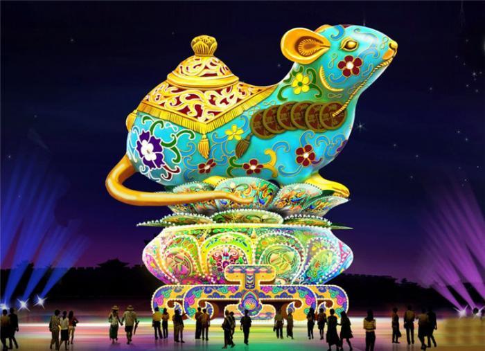【花燈制作】廣西壯南甯市青秀山迎新春大型燈展