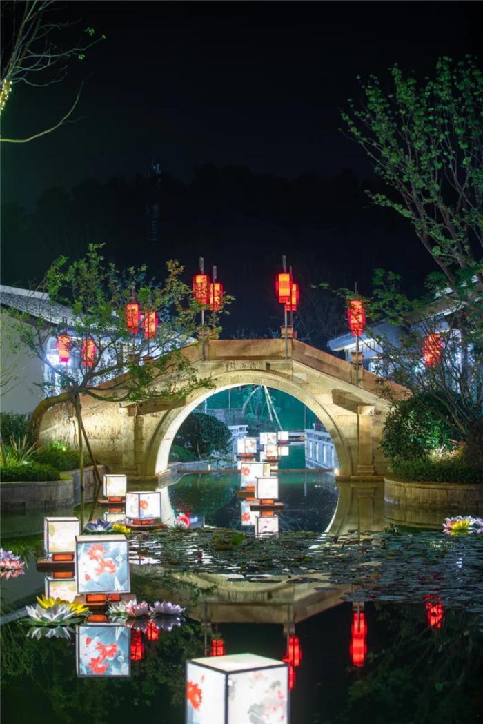 【花燈制作】江囌無錫湖㳇·陽羨谿山中鞦燈會