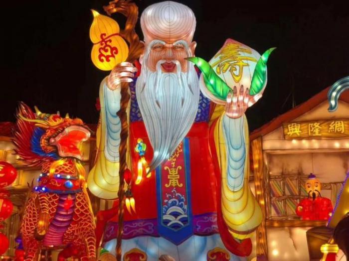 【花燈制作】湖北第四屆武漢園博園新年燈會