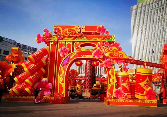 【花燈制作】新年貴州省懷仁市新年燈會